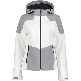 Icepeak Blaine Softshell Jack Dames, optic white